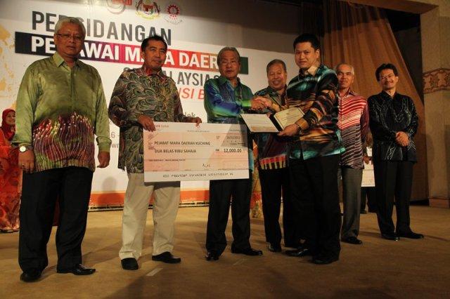 Pejabat MARA Daerah (PMD) Kuching memenangi PMD Terbaik 2012 diikuti PMD Kuala Kangsar di tempat kedua dan PMD Semporna di tempat ketiga.