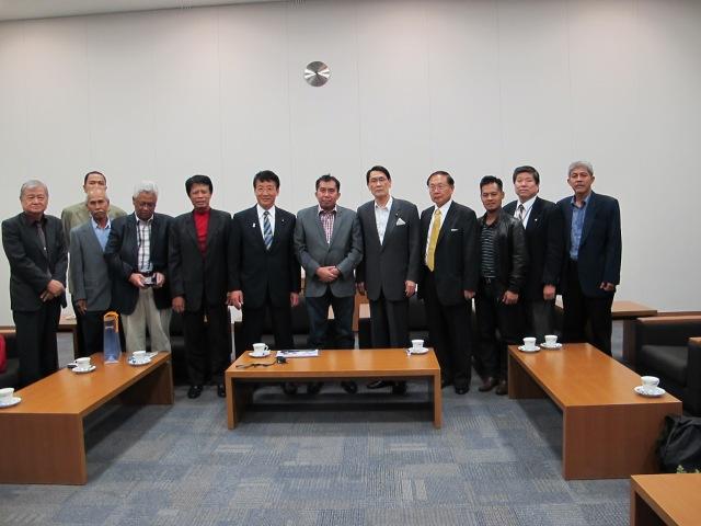 Perjumpaan dengan Parti Demokratik Liberal -LDP