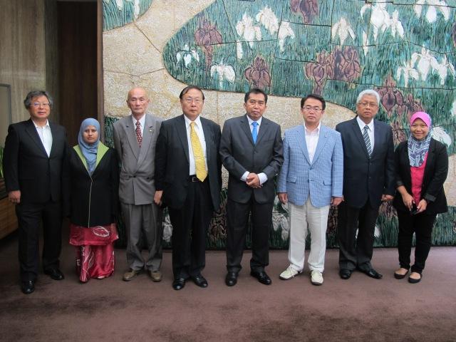 Perjumpaan Dengan Governor Aichi Japan
