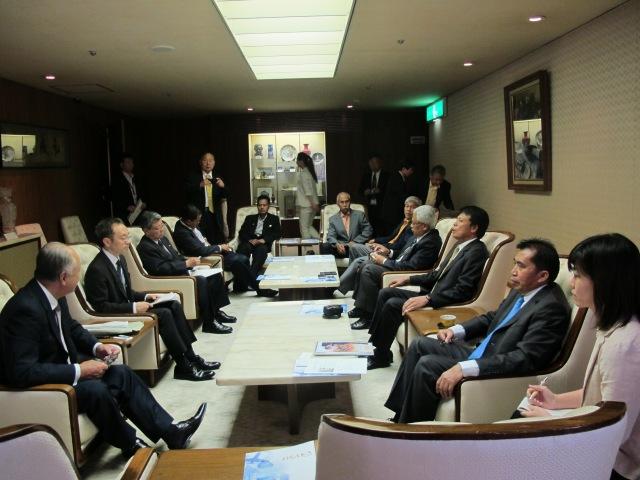 Perjumpaan Bersama OISCA Chubu - Mr Katsuhiko Machida