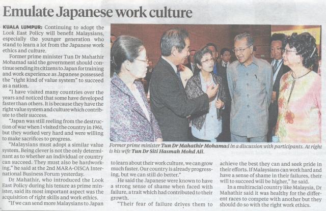 Sumber New Sunday Times, 16 september 2013