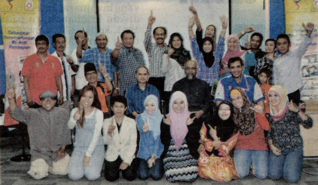 Antara peserta kursus usahawan yang terdiri daripada atlet. Sumber Gambar- Barita Harian