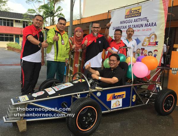 KURSUS BAHARU IKM: IKM Cawangan Kuching tawar Diploma Teknologi Automotif Pacuan Empat Roda dan Diploma Kompetensi Elektrik bermula Julai.