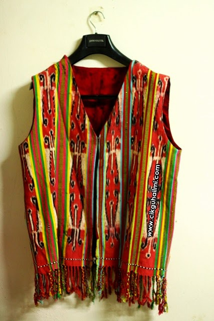 Inilah hadiahnya! Baju Tradisional Iban, Baju Burung
