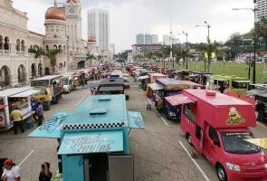 'Food Truck Feast' event which took place at Dataran Merdeka in Kuala Lumpur.