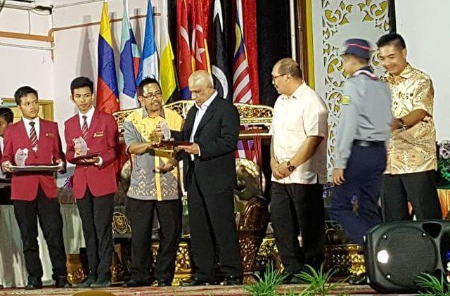 Majlis Anugerah Kecemerlangan Maktab Rendah Sains MARA (MRSM) Taiping 2016