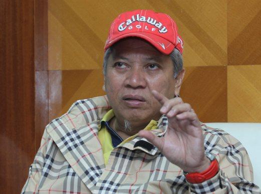 ANNUAR pada sidang media di ibu pejabat MARA, di Kuala Lumpur, hari ini. - Foto NSTP/Yazit Razali