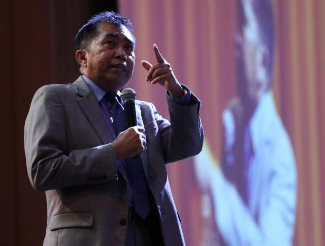 Ketua Pengarah MARA, Datuk Ibrahim Ahmad.